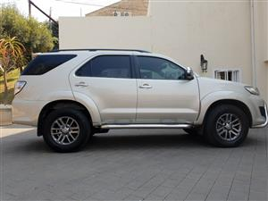 2014 Toyota Fortuner 3.0D 4D 4x4 Ltd edition