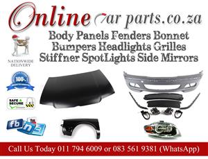 High Quality Body Panels Fenders Bonnet Bumpers Headlights Grilles Stiffener Spotlights Side Mirrors