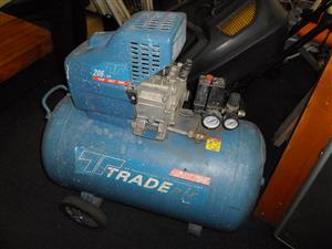 Tradeair 100lt. Compressor