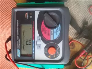 Major Tech - K3005 250/500/1000V Digital Insulation Tester New still Unused with original batteries still