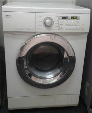 LG wash & dry combo