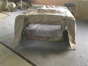 Canvas canopy for Land Rover Defender 110