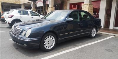 2002 Mercedes Benz E Class E250 Elegance