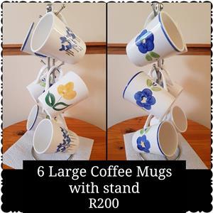 Coffee Mugs with Stand