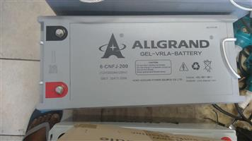 Allgrand (200ah )Battery For Sale