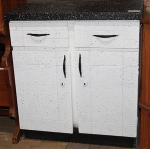 2 door kitchen cupboard S032461C #Rosettenvillepawnshop