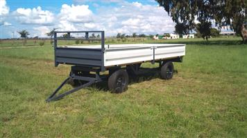 Verrigter 10 Ton met drop sides New Trailer