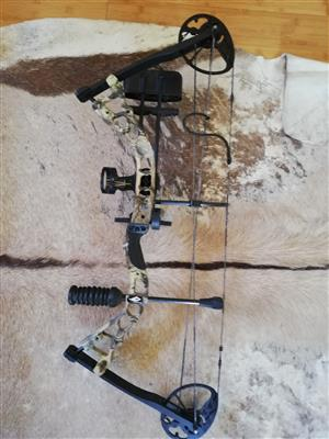 Diamond Infinite Edge Compound Bow for sale, including full kit