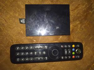 Hard drive and remote