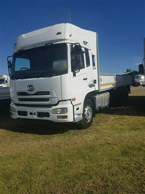 2008 Nissan UD460 double diff dropside truck  for sale