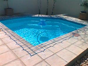 Pool safety nets & covers - Ask about our Spring specials