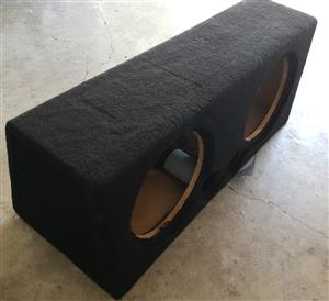 12 inch Large Subwoofer Box with Twin Ports