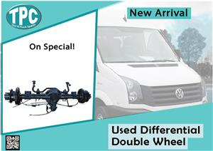 Volkswagen Crafter Used Differential Double Wheel for sale at TPC