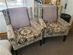 BARGAIN!! Two beautiful armchairs for sale
