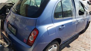 NISSAN MICRA 2005 STRIPING FOR SPARES
