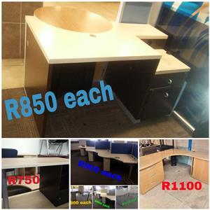 Desks Desks Desks!!! From R375