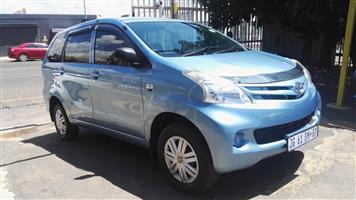 2012 Toyota Avanza AVANZA 1.5 SX