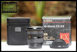 Sigma EX 10-20mm f/4-5.6 DC (Canon)