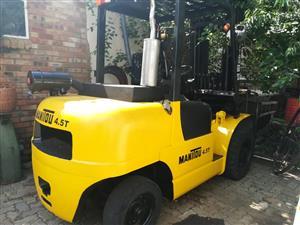 Manitou Forklift for sale