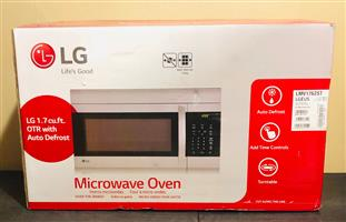 LG  Microwave Oven Stainless Steel