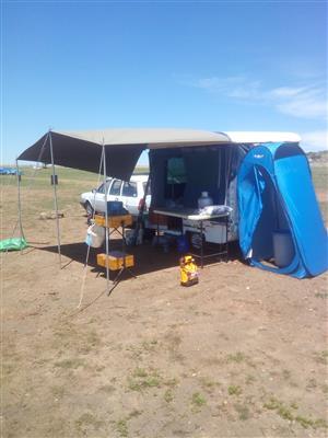 Gypsey pop up caravan