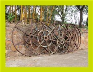 Large Steel Hoops - SKU 569