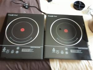 X 2 Snappy Chef Induction Stoves – R 2 000 for both - Never used