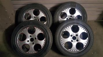 "15"" Aluminium Mags for sale: 108 PCD"