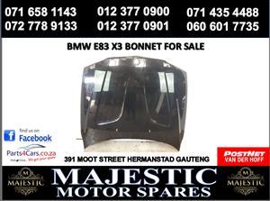 Bmw e83 x3 bonnet for sale