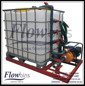 NEW 1000L Water Bowsers / Fire Fighters - Multi Purpose (Suction / Pumping / Mixing) from R7490