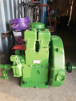 Lister pomp 2 cylinder