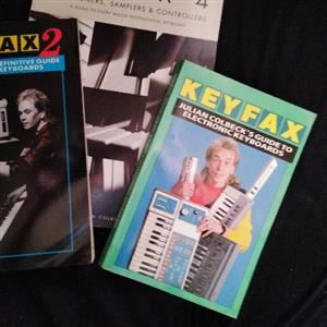 3 Collectable synthesizer guides for sale