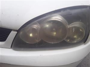 Ford Bantam 2006 headlights