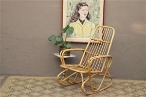 Cane rocking chair (Randburg)