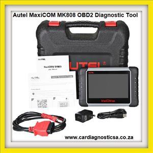 Car diagnostic: newest Autel MaxiCOM MK808 OBD2 Diagnostic Tool 7-inch LCD Touch