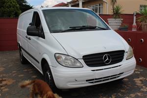 2007 Mercedes Benz Vito 115 CDI 2.2 panel van