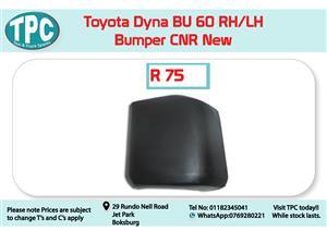Toyota Dyna BU 60 RH/LH Bumper CNR New for Sale at TPC