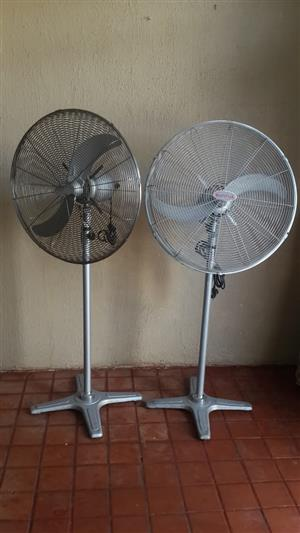 Eurolux Industrial fan, 650mm, 250watts, in good working condition