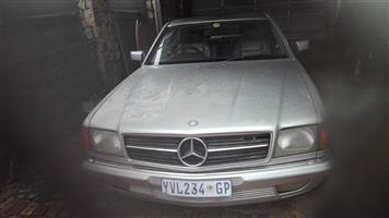 1986 Mercedes Benz 380SEC