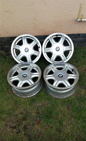 15 inch BMW rims