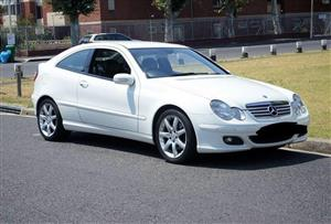 2006 Mercedes Benz C Class C230 V6 Sports Coupé Evolution