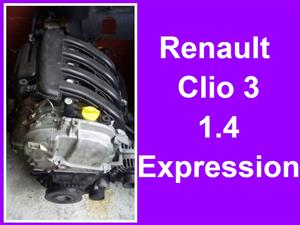 Renault Clio 3 1.4 D01 engine for sale