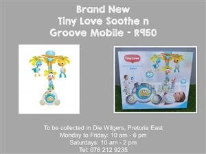 Brand New Tiny Love Soothe n Groove Mobile