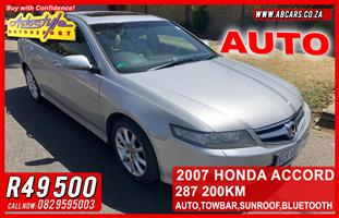 2007 Honda Accord 2.0 Executive automatic