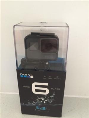 GoPro Hero 6 Black (New Condition)