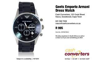 Gents Emporio Armani Dress Watch