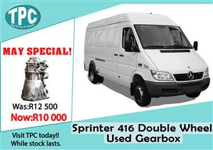 Mercedes Benz Sprinter 416 Double Wheel Used Gearbox For Sale at TPC