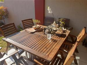 8 Seater Saligna Patio Table