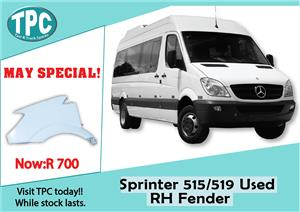 Mercedes Benz Sprinter 515/519 Used RH Fender Sale at TPC