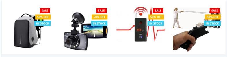 Spy Shop 50% OFF MEGA SALE NOW ON!!